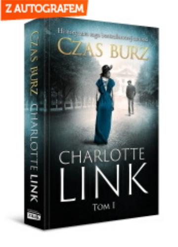 okładka Czas burz - edycja z autografemksiążka |  | Charlotte Link