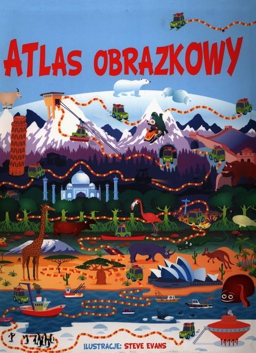 okładka Atlas obrazkowy, Książka  