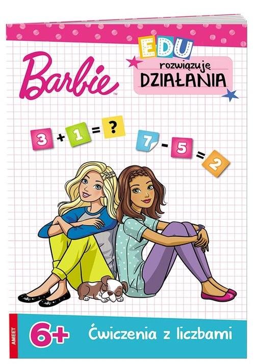 okładka Barbie Rozwiązuję działania 6+ UDK-1101, Książka |