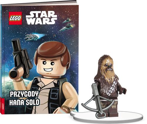 okładka Książka do czytania Lego Star Wars Przygody Hana Solo + minifigurka K ZKLNRD306/1, Książka |