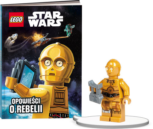 okładka Książka do czytania Lego Star Wars Opowieści o Rebelii + minifigurka K ZKLNRD304/1, Książka |