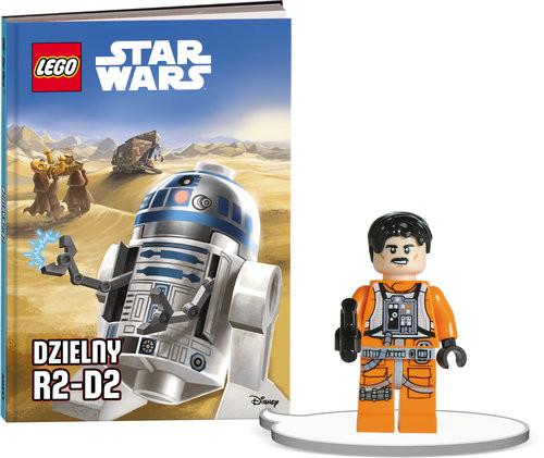 okładka Książka do czytania Lego Star Wars Dzielny R2-D2 + minifigurka K ZKLNRD305/1, Książka |