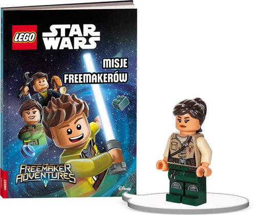 okładka Książka do czytania Lego Star Wars Misje Freemakerów + minifigurka K ZKLNRD307/1, Książka |