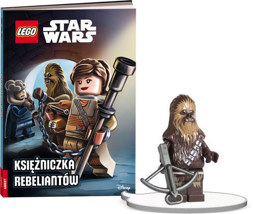 okładka Książka do czytania. Lego Star Wars. Księżniczka Rebeliantów + minifigurka K ZKLNRD308/1, Książka |