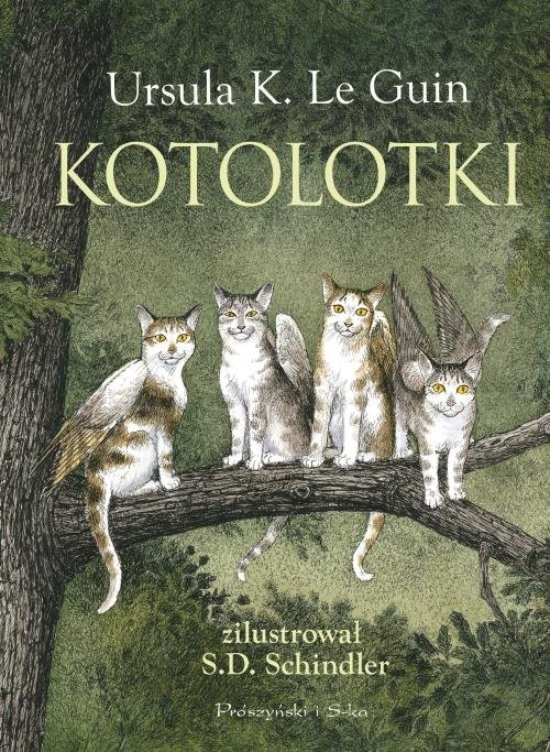 okładka Kotolotki, Książka   Ursula K. LeGuin
