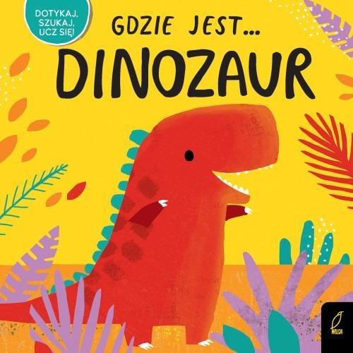 okładka Gdzie jest... Dinozaur, Książka |