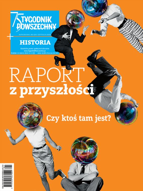 okładka Tygodnik Powszechny Historia Raport z przyszłościebook | epub, mobi | Opracowanie zbiorowe