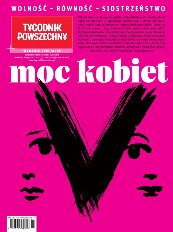okładka Tygodnik Powszechny Moc kobiet, Ebook   Opracowanie zbiorowe