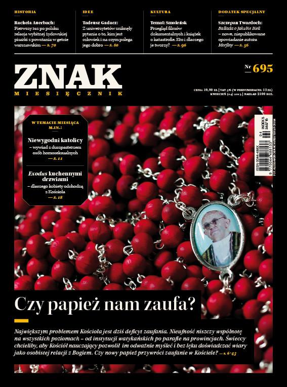 okładka Miesięcznik ZNAK nr 695 (4/2013), Ebook | autor zbiorowy