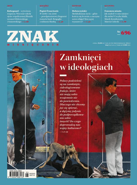 okładka Miesięcznik ZNAK nr 696 (5/2013), Ebook | autor zbiorowy