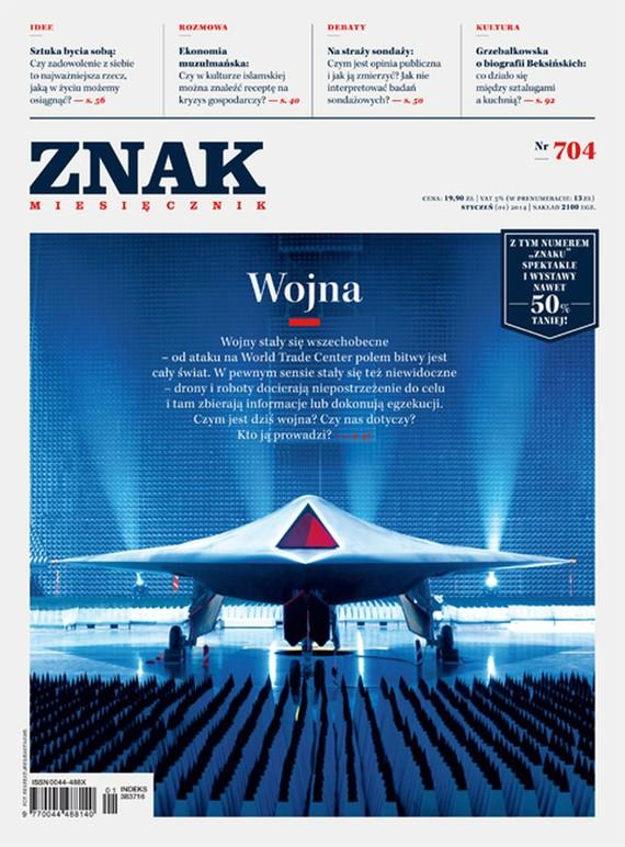 okładka Miesięcznik ZNAK nr 704 (1/2014), Ebook | autor zbiorowy