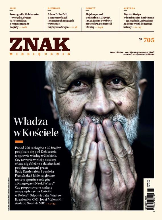 okładka Miesięcznik ZNAK nr 705 (2/2014), Ebook | autor zbiorowy