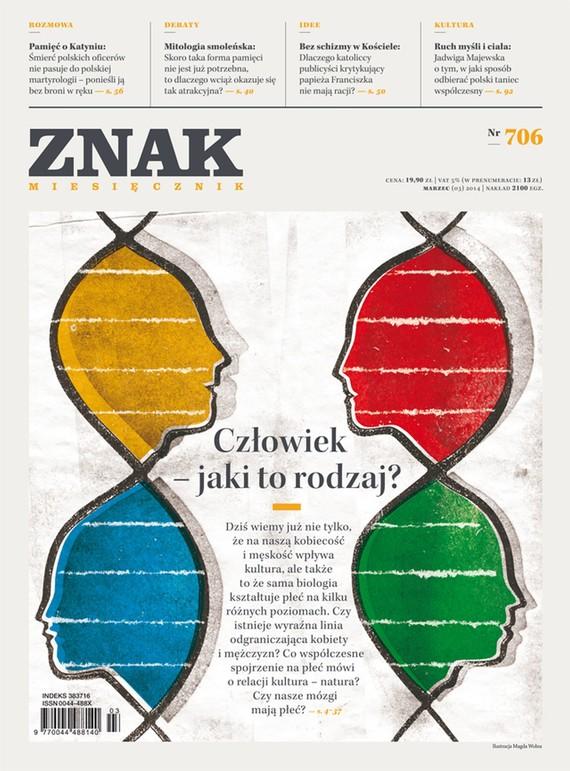 okładka Miesięcznik ZNAK nr 706 (3/2014), Ebook | autor zbiorowy