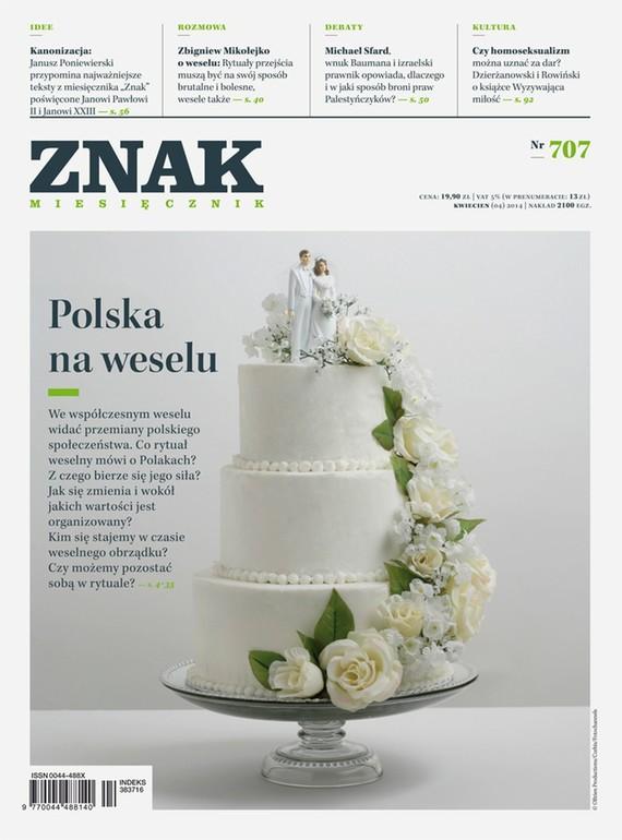 okładka Miesięcznik ZNAK nr 707 (4/2014), Ebook | autor zbiorowy
