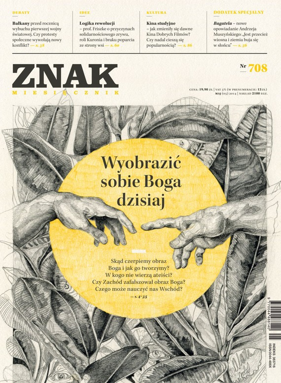 okładka Miesięcznik ZNAK nr 708 (5/2014), Ebook | autor zbiorowy
