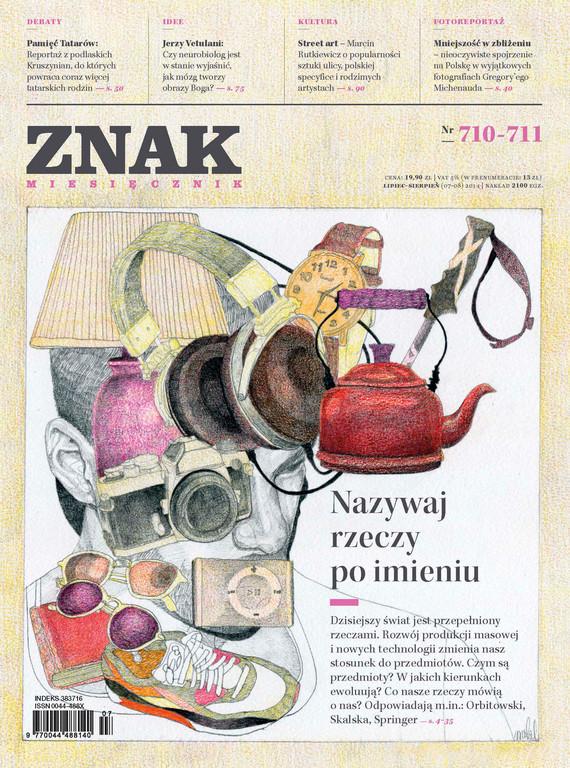 okładka Miesięcznik ZNAK nr 710-711 (7-8/2014)ebook   epub, mobi   autor zbiorowy