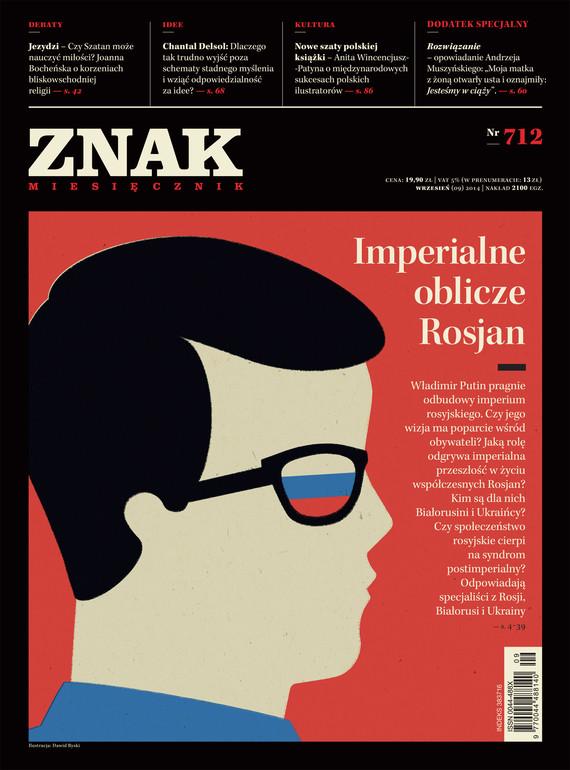 okładka Miesięcznik ZNAK nr 712 (9/2014), Ebook | autor zbiorowy