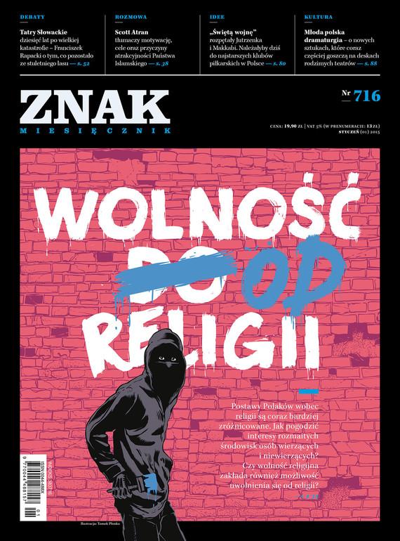 okładka Miesięcznik ZNAK nr 716 (1/2015), Ebook | autor zbiorowy