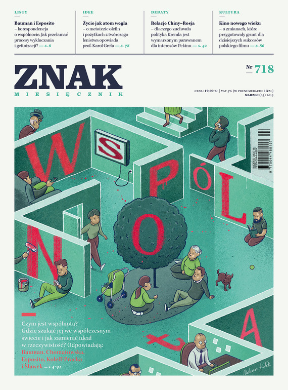 okładka Miesięcznik ZNAK nr 718 (3/2015), Ebook | autor zbiorowy