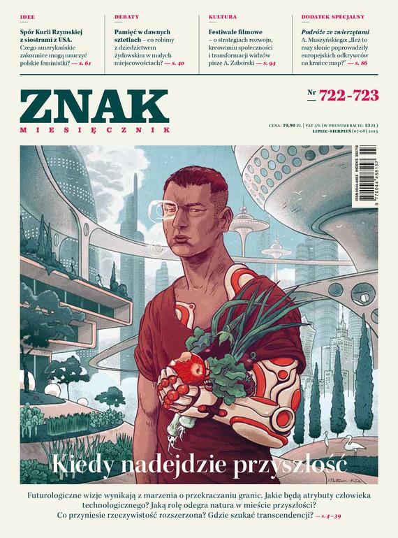 okładka Miesięcznik ZNAK nr 722-723 (7-8/2015)ebook   epub, mobi   autor zbiorowy