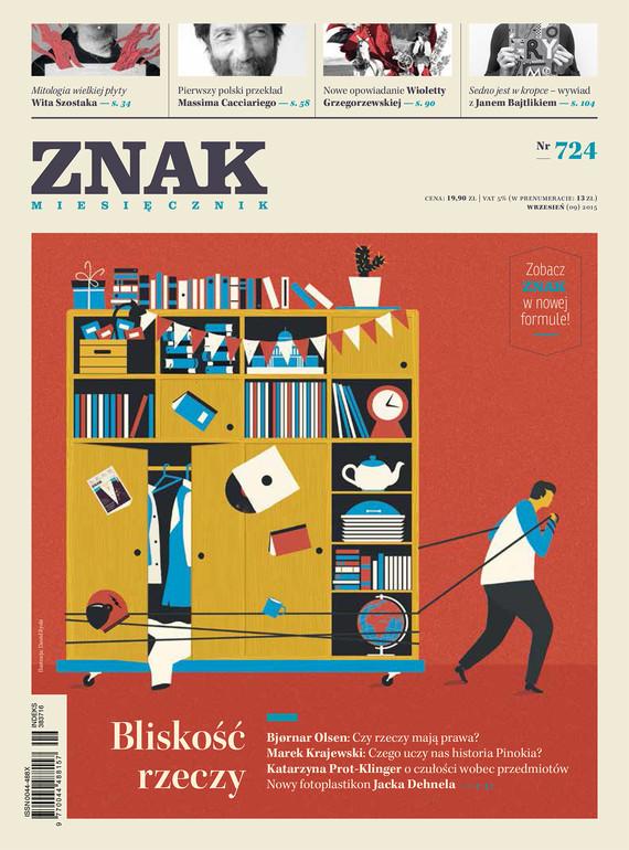 okładka Miesięcznik ZNAK nr 724 (9/2015)ebook   epub, mobi   autor zbiorowy