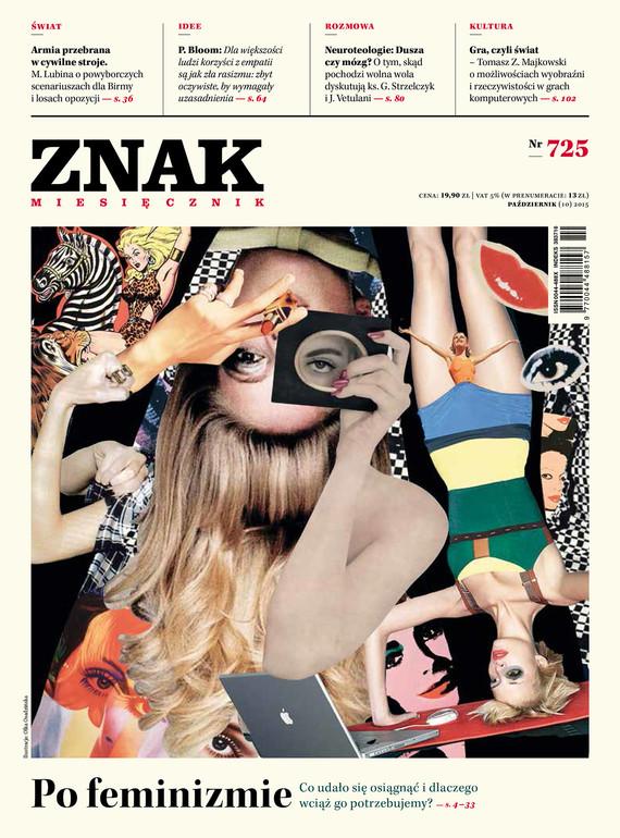 okładka Miesięcznik ZNAK nr 725 (10/2015)ebook | epub, mobi | autor zbiorowy
