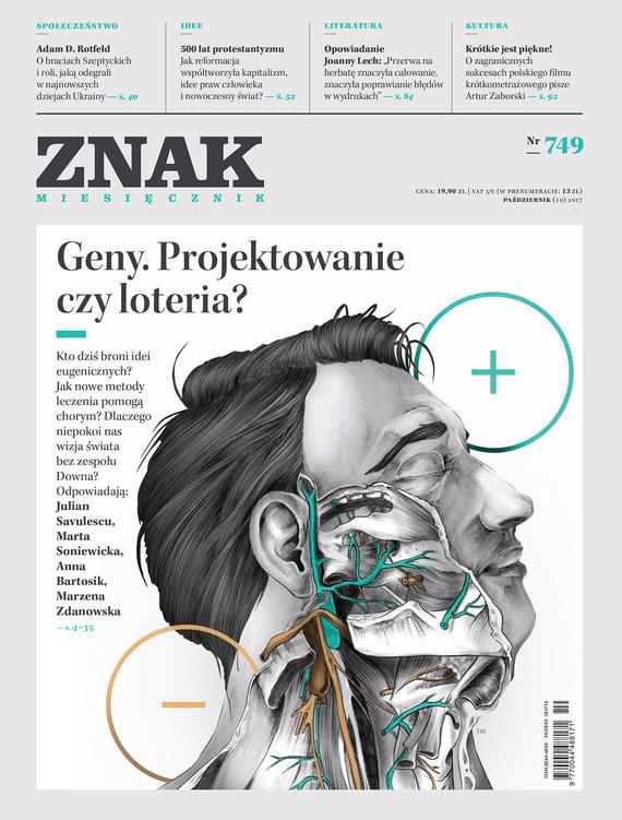 okładka Miesięcznik ZNAK nr 749: Geny. Projektowanie czy loteria?ebook | epub, mobi | Publikacje Zbiorowe