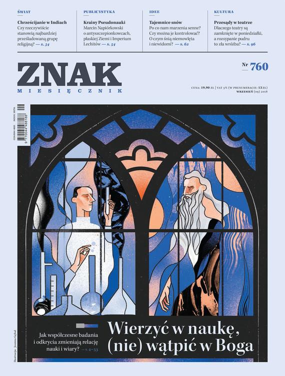 okładka Miesięcznik ZNAK nr 760ebook | epub, mobi | autor zbiorowy