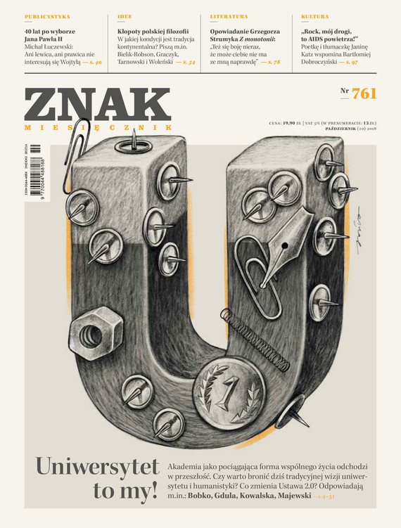 okładka Miesięcznik ZNAK nr 761ebook | epub, mobi | autor zbiorowy