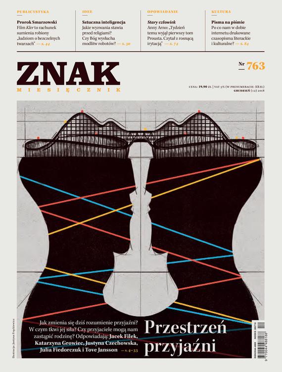 okładka Miesięcznik ZNAK nr 763ebook | epub, mobi | autor zbiorowy