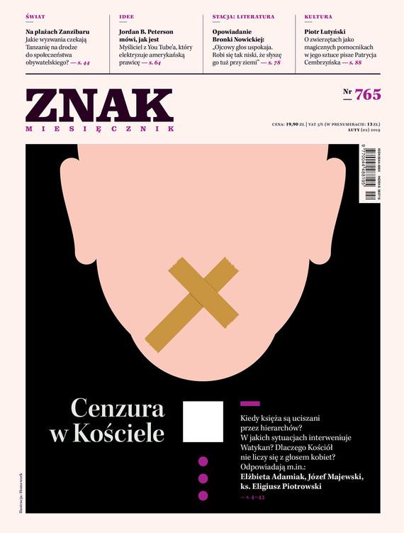 okładka Miesięcznik ZNAK nr 765ebook | epub, mobi | autor zbiorowy