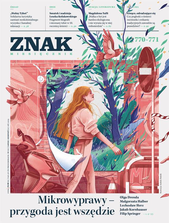 okładka Miesięcznik ZNAK nr 770-771, Ebook | autor zbiorowy