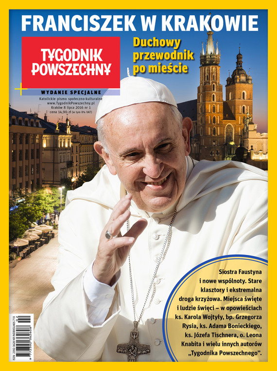 okładka Franciszek w Krakowie. Duchowy przewodnik po mieście, Ebook   Opracowanie zbiorowe