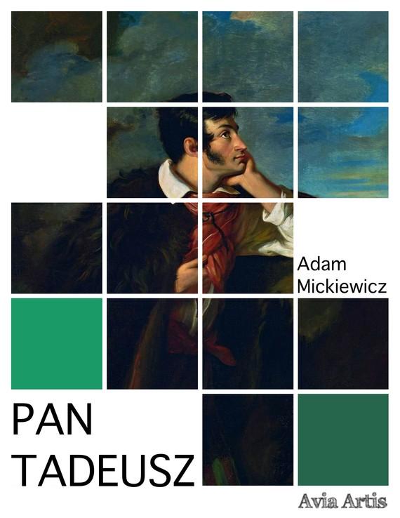 okładka Pan Tadeusz, Ebook | Adam Mickiewicz