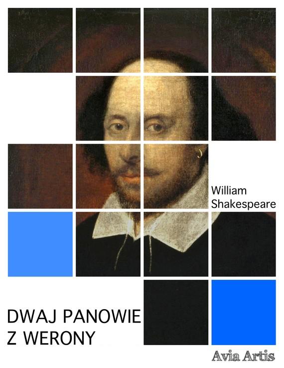 okładka Dwaj panowie z Werony, Ebook | William Shakespeare