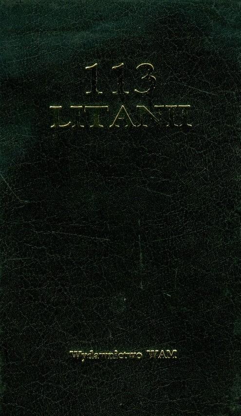 okładka 113 litanii czarny, Książka | Jerzy Lech Kontkowski