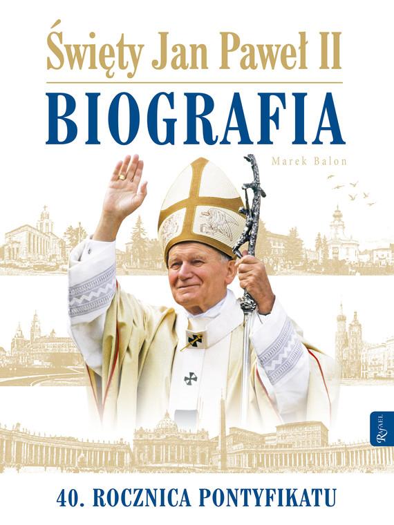 okładka Św. Jan Paweł II Biografia, Audiobook | Marek  Balon