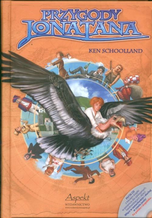 okładka Przygody Jonatana z płytą CD, Książka | Schoolland Ken