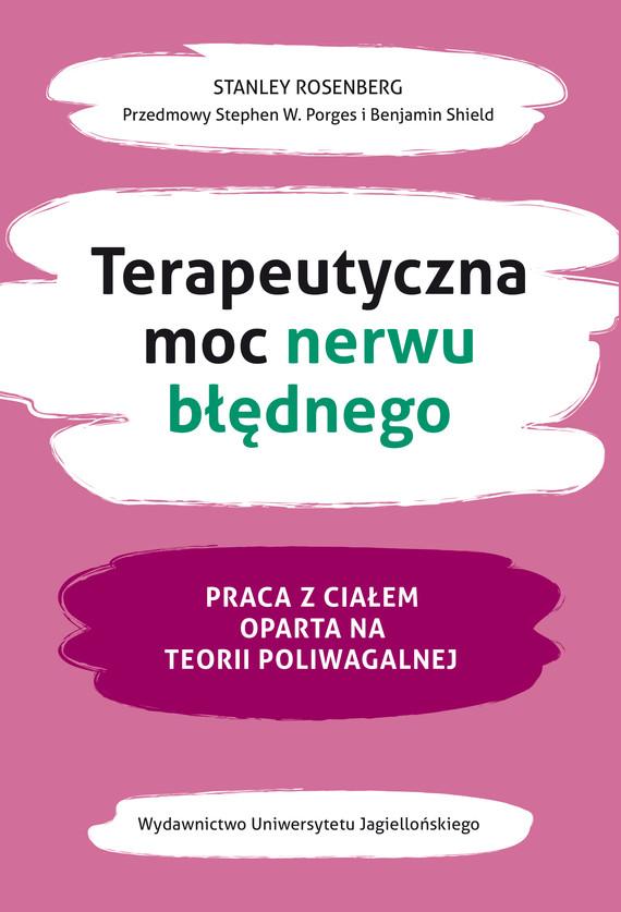 okładka Terapeutyczna moc nerwu błędnegoebook | epub, mobi | Stanley Rosenberg