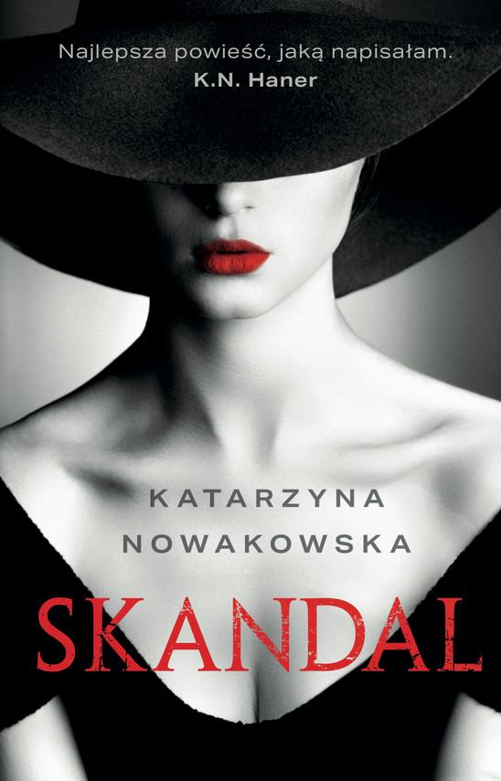 okładka Skandalebook | epub, mobi | Katarzyna Nowakowska