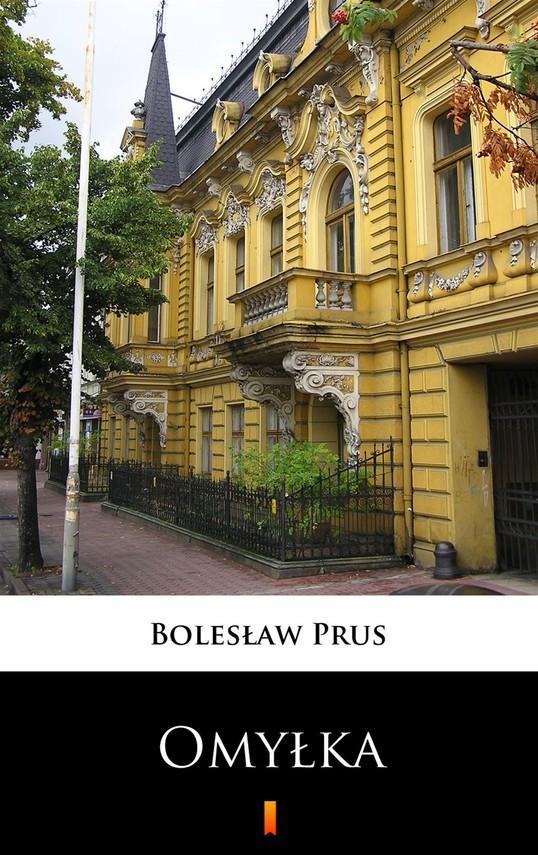 okładka Omyłka, Ebook   Bolesław Prus