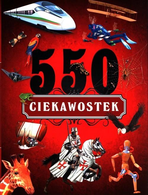 okładka 550 ciekawostek, Książka  