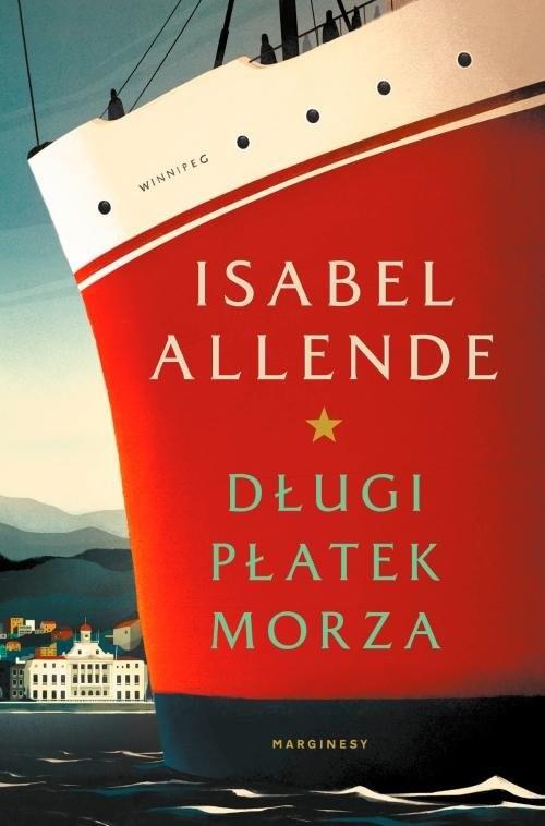 okładka Długi płatek morza, Książka | Isabel Allende
