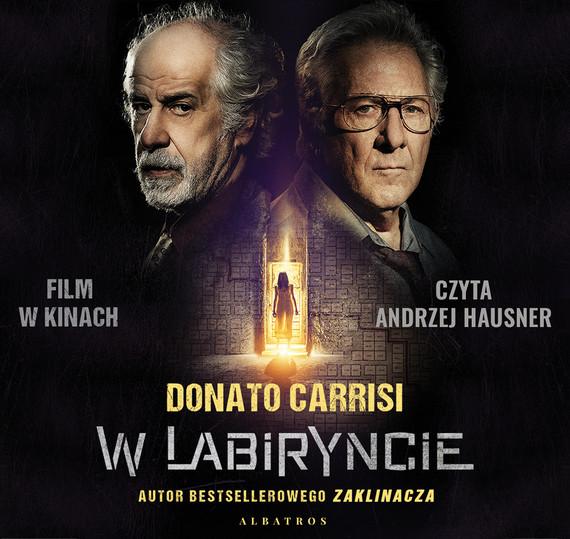 okładka W labiryncie, Audiobook | Donato Carrisi