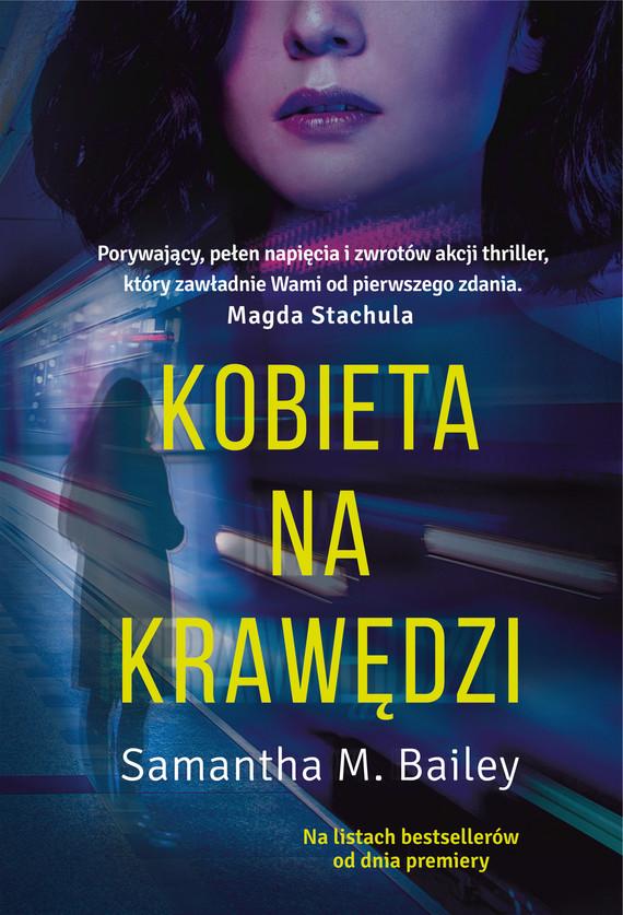 okładka Kobieta na krawędziebook | epub, mobi | Samantha M. Bailey