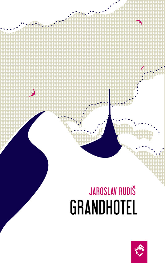 okładka Grandhotelebook   epub, mobi   Jaroslav Rudiš