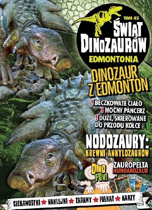 okładka Świat Dinozaurów Tom 45 EDMONTONIA, Książka |
