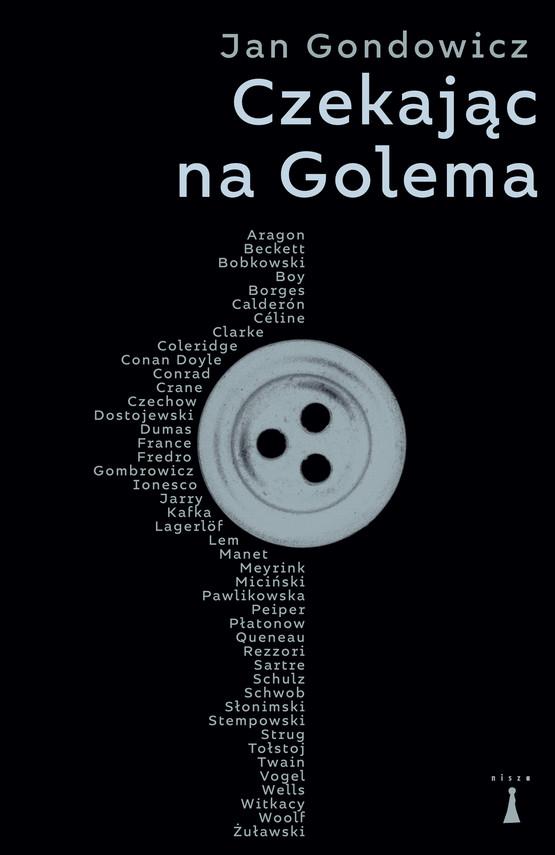 okładka Czekając na Golema, Ebook   Jan Gondowicz