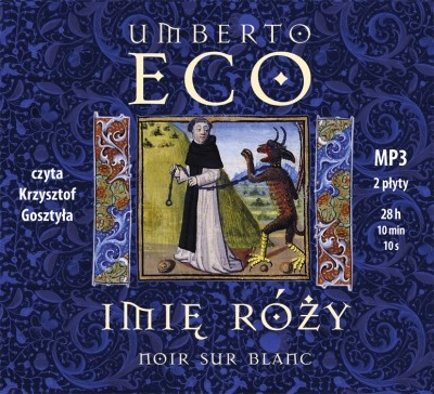 okładka Imię róży - audiobookaudiobook | MP3 | Umberto Eco