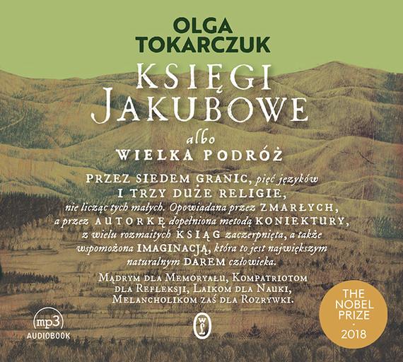 okładka Księgi Jakubowe, Audiobook | Olga Tokarczuk